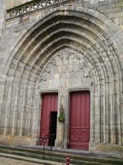 Eglise Saint-Pierre - Vic-le-Comte - Sainte-Chapelle - Portail
