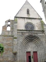 Eglise Saint-Pierre - Vic-le-Comte - Sainte-Chapelle - Façade occidentale