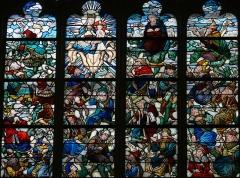 Eglise Saint-Pierre - Vic-le-Comte - Sainte-Chapelle - Vitrail central - Arbre de Jessé