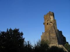 Château fort de Tournoël -  Château de Tournoël (commune de Volvic, Puy-de-Dôme, région Auvergne)  Auteur Jean-Marc Aubelle