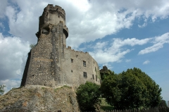 Château fort de Tournoël - Français:   Château de Tournoël