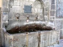 Fontaine des Lions - Français:   Fontaine des petits-gras à Clermont-Ferrand (Puy-de-Dôme, France).