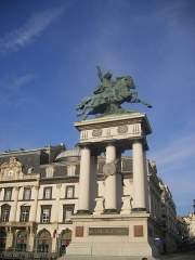 Statue de Vercingétorix -  Clermont-Ferrand - Place de Jaude, statue of Vercingetorix