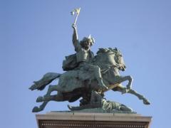 Statue de Vercingétorix - English: Statue at Jaude center, Clermont Ferrand