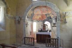 Eglise de Bousselargues -  Choeur de la chapelle