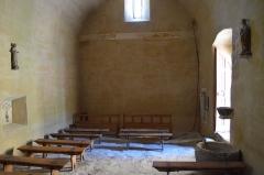Eglise de Bousselargues -  Intérieur de l\'église