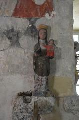 Eglise de Bousselargues -  Vierge à l\'enfant