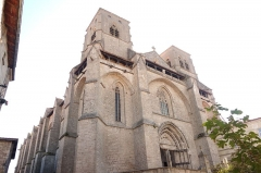 Eglise abbatiale Saint-Robert - Façade de l'abbatiale Saint Robert de La Chaise-Dieu