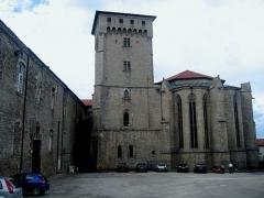 Eglise abbatiale Saint-Robert -  Auvergne La Chaise-Dieu Saint-Robert Chevet