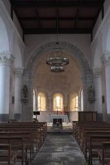 Eglise Saint-Pierre - Deutsch: Katholische Kirche Saint-Pierre in Cistrières im Département Haute-Loire (Auvergne-Rhône-Alpes/Frankreich), Innenraum