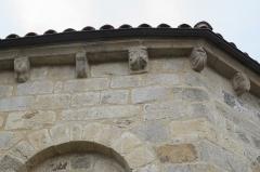 Eglise Saint-Pierre - Deutsch: Katholische Kirche Saint-Pierre in Cistrières im Département Haute-Loire (Auvergne-Rhône-Alpes/Frankreich), Kragsteine