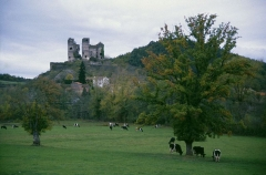 Ruines du Château fort - Deutsch: Burgruine Domeyrat