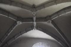 Eglise Saint-Géraud - Deutsch: Katholische Kirche Saint-Géraud in Lempdes-sur-Allagnon im Département Haute-Loire (Auvergne-Rhône-Alpes/Frankreich), Gewölbe