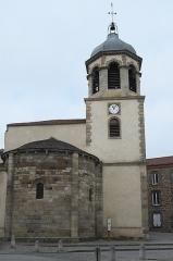 Eglise Saint-Géraud - Deutsch: Katholische Kirche Saint-Géraud in Lempdes-sur-Allagnon im Département Haute-Loire (Auvergne-Rhône-Alpes/Frankreich)