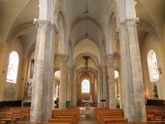 Eglise Saint-Marcellin - Français:   Monistrol-sur-Loire, dép. de la Haute-Loire, France (Auvergne). Eglise collégiale Saint-Marcellin, vue intérieure.