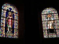 Eglise Saint-Marcellin - Français:   Monistrol-sur-Loire, dép. de la Haute-Loire, France (Auvergne). Église collégiale Saint-Marcellin, vitraux de Barrelon (1864).