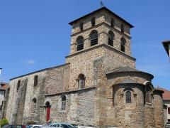 Eglise Saint-Jean-Baptiste - Français:   Retournac - Église Saint-Jean-Baptiste