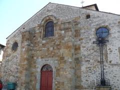 Eglise Saint-Jean-Baptiste - Français:   Retournac - Église Saint-Jean-Baptiste - Façade occidentale
