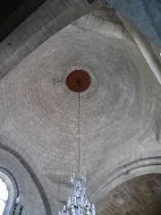 Eglise Saint-Jean-Baptiste - Français:   Retournac - Église Saint-Jean-Baptiste - Coupole de la croisée du transept