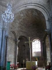 Eglise Saint-Jean-Baptiste - Français:   Retournac - Église Saint-Jean-Baptiste - Choeur