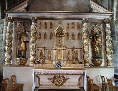 Eglise Saint-Cirgues - Français:   Église Saint-Cirgues - Retable du XVIIe siècle