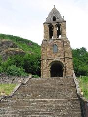 Chapelle Sainte-Marie-des-Chazes - Siaugues-Sainte-Marie (Haute-Loire - France), la chapelle Sainte-Marie-des-Chazes (XIIIe siècle).
