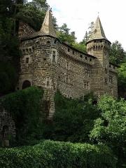 Château de la Roche-Lambert -  Saint-Paulien, dép. de la Haute-Loire, France (Auvergne). Château de La Rochelambert.