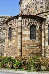 Eglise Saint-Georges - Français:   France - Velay - Église Saint-Georges de Saint-Paulien
