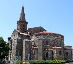 Eglise Saint-Georges - Français:   Saint-Paulien - Collégiale Saint-Georges - Chevet