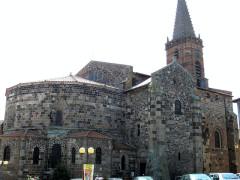 Eglise Saint-Georges - Français:   Saint-Paulien - Collégiale Saint-Georges - Côté nord