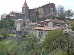 Eglise Saint-Privat - English: roman church of Saint-Privat-d'Allier