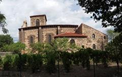 Eglise Sainte-Anne -  église Saint-Anne de Vieille-Brioude