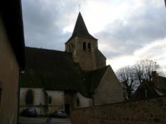 Eglise Saint-Etienne -  Ainay-le-Chateau kyrka, 2006