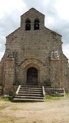 Ancienne église Saint-Pardoux -  Façade de l'église Saint-Pardoux d'Archignat.