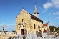 Eglise Saint-Genest - Français:   Église Saint-Génes d\'Aubigny