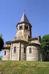 Eglise Saint-Symphorien - Français:   France - Allier - Église Saint-Symphorien de Biozat