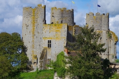 Château - English: Bourbon l'Archambault Castle