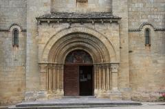 Eglise Saint-Georges - Bourbon l'Archambault église St Georges portail ouest