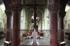 Eglise Saint-Georges - Église Saint-Georges de Bourbon-l'Archambault le choeur