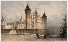 Château de Busset - French lithographer and painter
