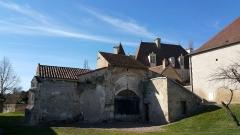Ancienne église Saint-Blaise de Chareil -  Église Saint-Blaise de Chareil - arrière