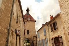 Porte d'Occident - Français:   Rue de Charroux