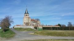 Eglise Sainte-Radegonde -  église Sainte-Radegonde de Cognat