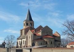 Eglise Sainte-Radegonde -  Église Sainte-Radegonde de Cognat dans l'Allier.