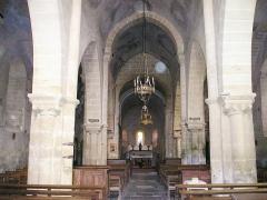 Eglise Saint-Denis - Deutsch: Deux-Chaises, Église St-Denis, innen.