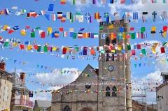 Eglise Sainte-Croix - Église Sainte-Croix, à Gannat (Allier)