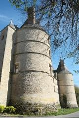 Château - Deutsch: Schloss in Jaligny-sur-Besbre im Département Allier (Auvergne-Rhône-Alpes/Frankreich)