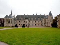 Château de La Palice (également sur commune de Saint-Prix) -  Château de Lapalisse, Allier, France