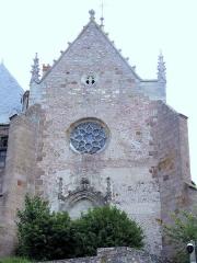 Château de La Palice (également sur commune de Saint-Prix) - Français:   Lapalisse - Château de La Palice - Chapelle Saint-Léger vue de la ville