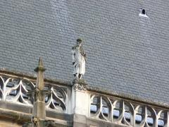 Cathédrale Notre-Dame - Basilique-cathédrale Notre-Dame de l'Annonciation de Moulins- Gargouille (1)